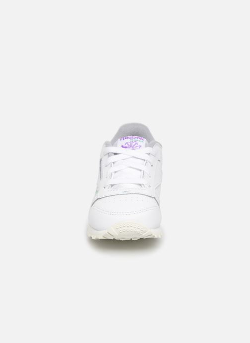 Baskets Reebok Classic Leather I Blanc vue portées chaussures