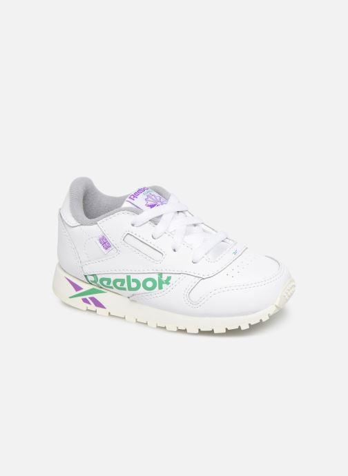 Baskets Reebok Classic Leather I Blanc vue détail/paire