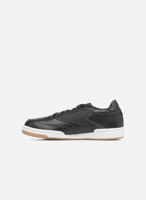 Sneakers Reebok Club C 85 Estl Zwart voorkant