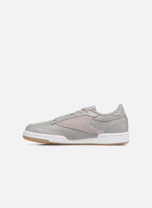 Baskets Reebok Club C 85 Estl Gris vue face