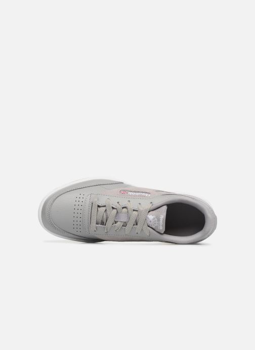 Trainers Reebok Club C 85 Estl Grey view from the left