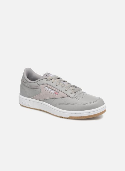 Trainers Reebok Club C 85 Estl Grey detailed view/ Pair view