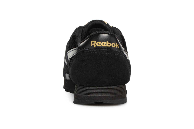 Baskets Reebok Cl Nylon C Noir vue droite