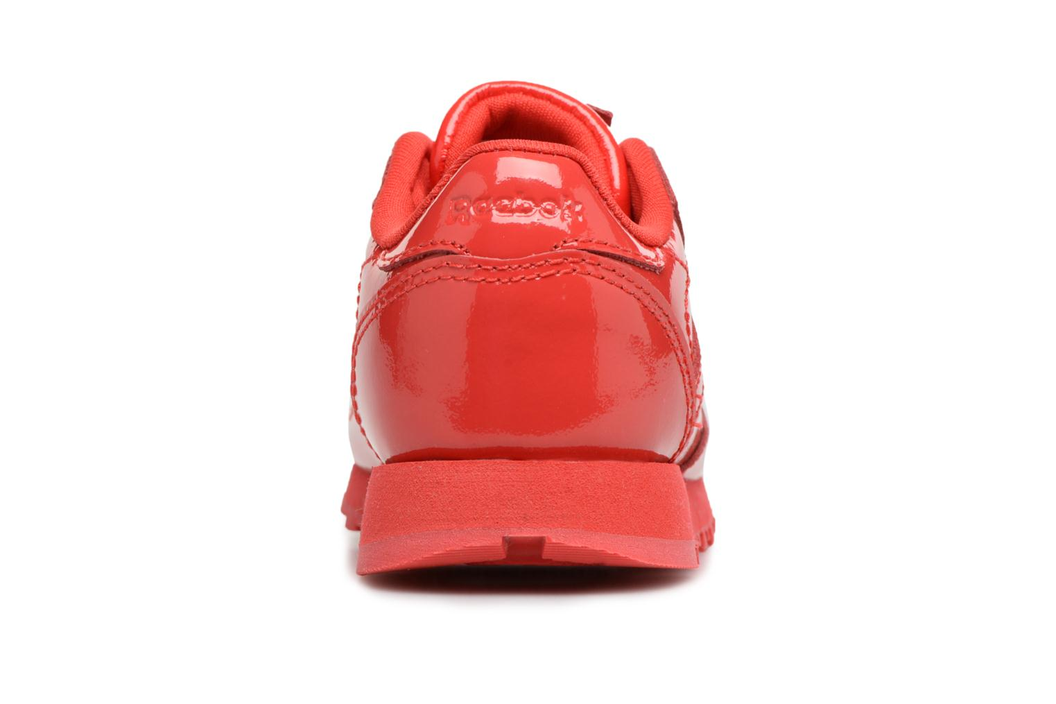 Sneakers Reebok Classic Leather Patent I Rosso immagine destra