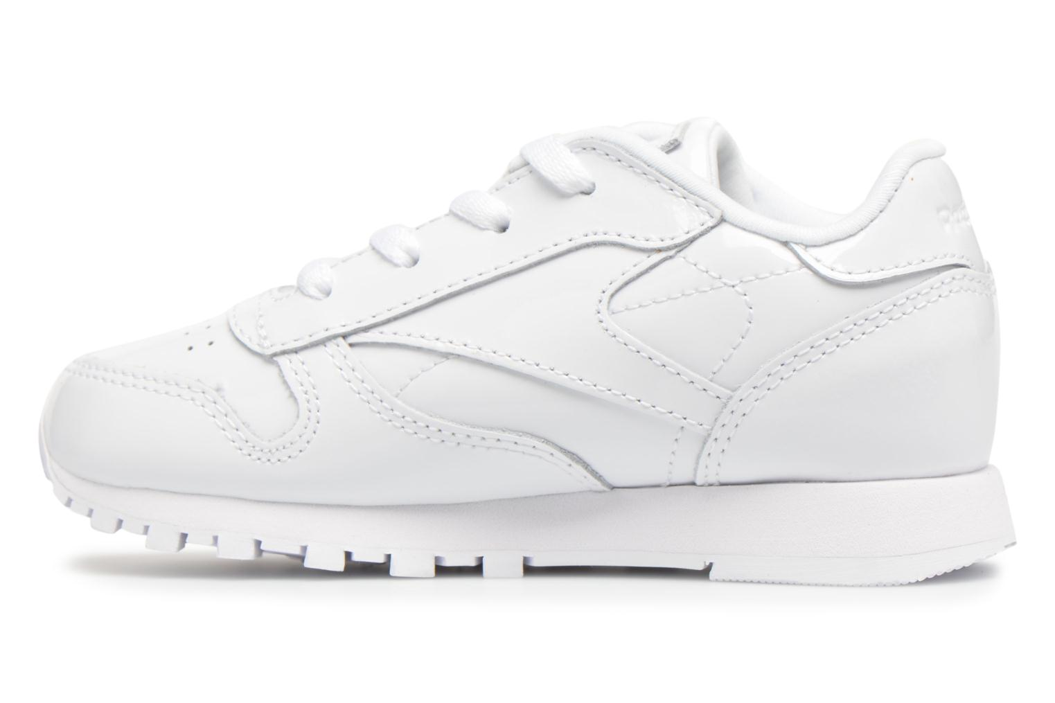 Baskets Reebok Classic Leather Patent I Blanc vue face