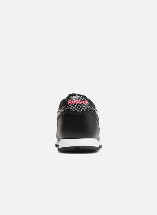 Baskets Reebok Cl Leather Girl Squad Noir vue droite
