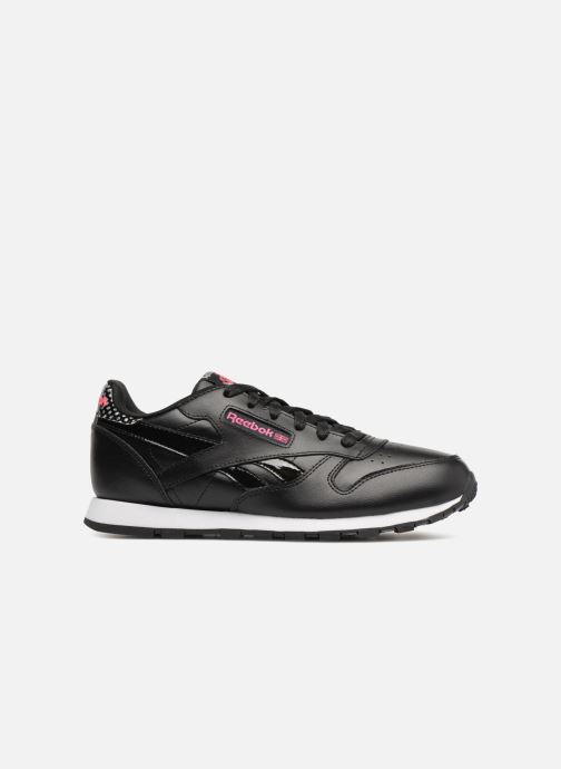Trainers Reebok Cl Leather Girl Squad Black back view