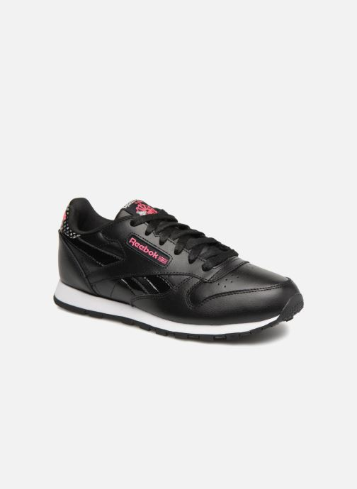 Trainers Reebok Cl Leather Girl Squad Black detailed view/ Pair view