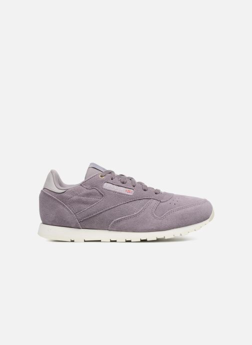 Trainers Reebok Cl Leather Mcc Purple back view