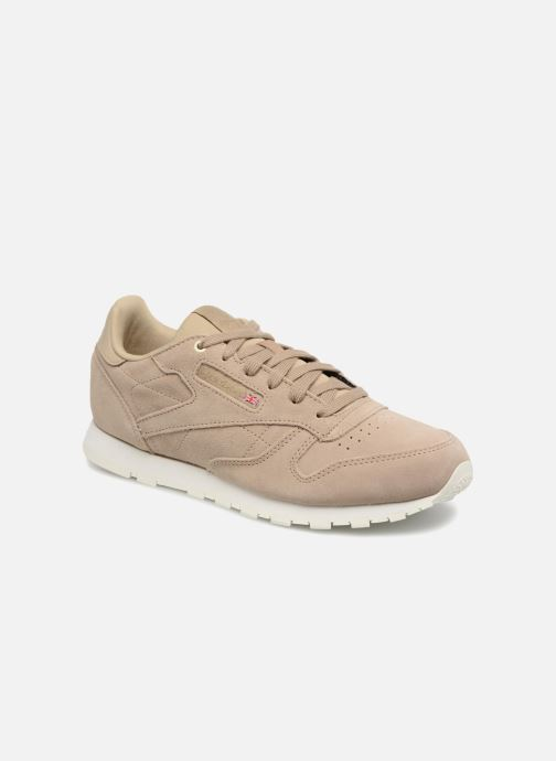 6e0c325bcd Reebok Cl Leather Mcc (Beige) - Trainers chez Sarenza (316451)