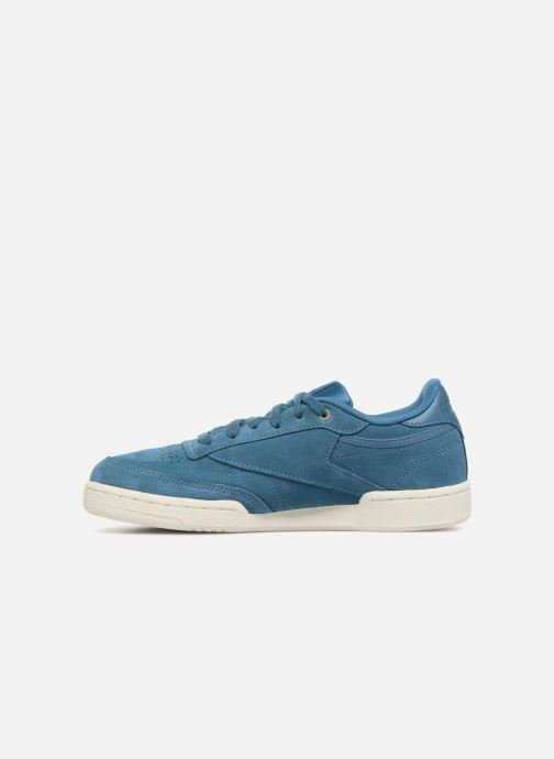 Baskets Reebok Club C 85 Mcc J Bleu vue face