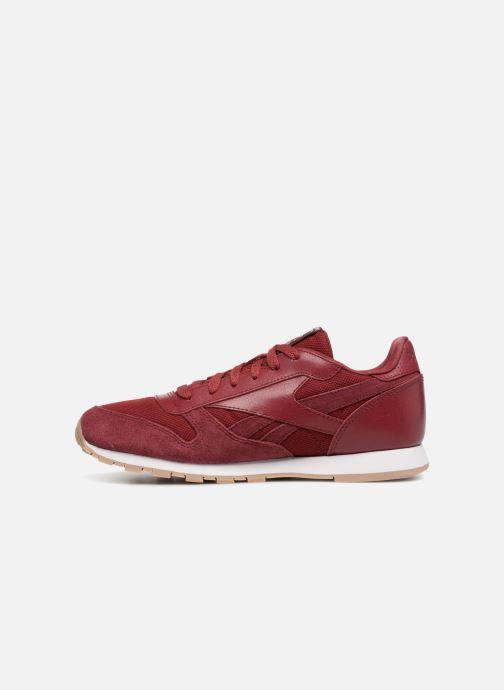 Sneakers Reebok Cl Leather Estl J Rood voorkant
