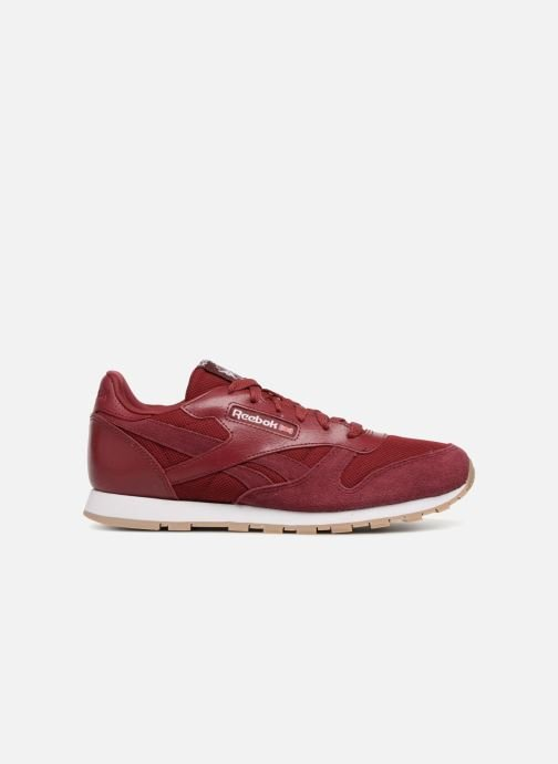Sneakers Reebok Cl Leather Estl J Rood achterkant