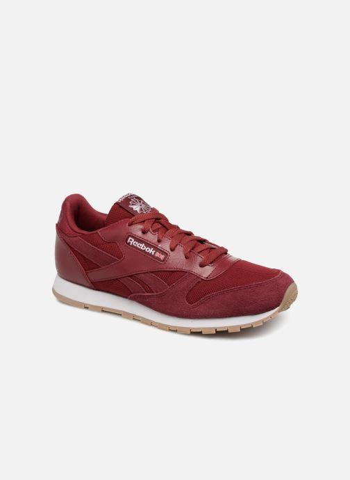 Deportivas Reebok Cl Leather Estl J Rojo vista de detalle / par