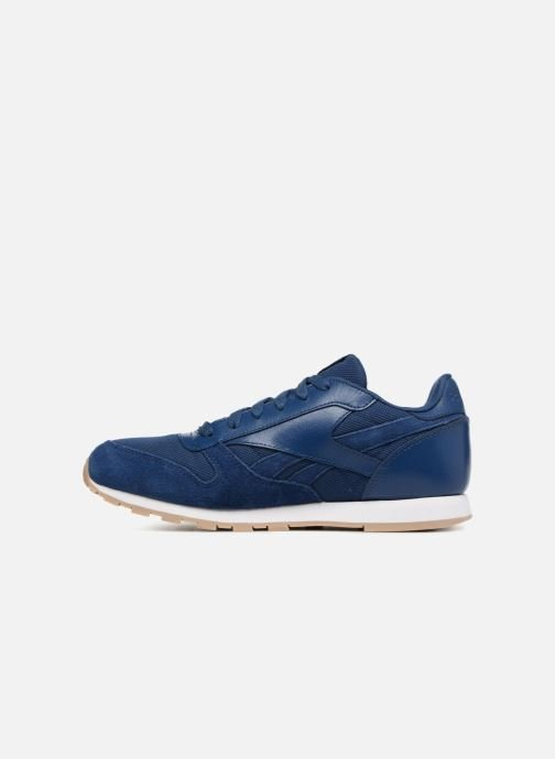 Baskets Reebok Cl Leather Estl J Bleu vue face
