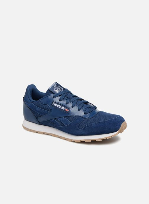 Baskets Reebok Cl Leather Estl J Bleu vue détail/paire