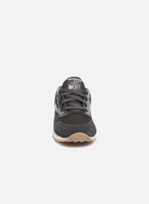 Baskets Reebok Cl Leather Estl I Noir vue portées chaussures