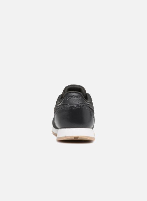 Baskets Reebok Cl Leather Estl I Noir vue droite