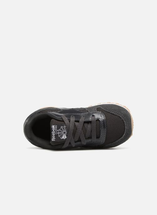 Baskets Reebok Cl Leather Estl I Noir vue gauche