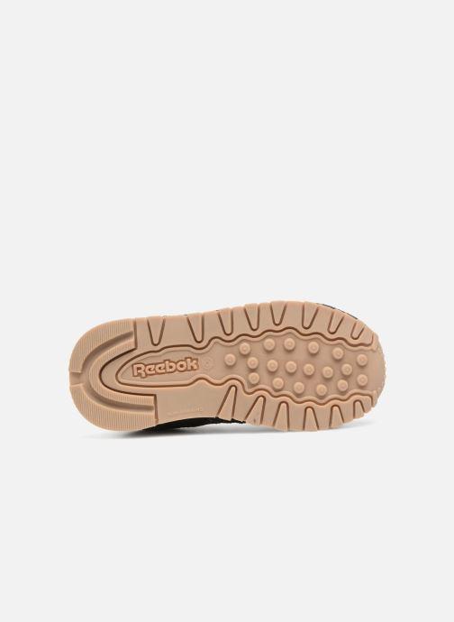 Baskets Reebok Cl Leather Estl I Noir vue haut