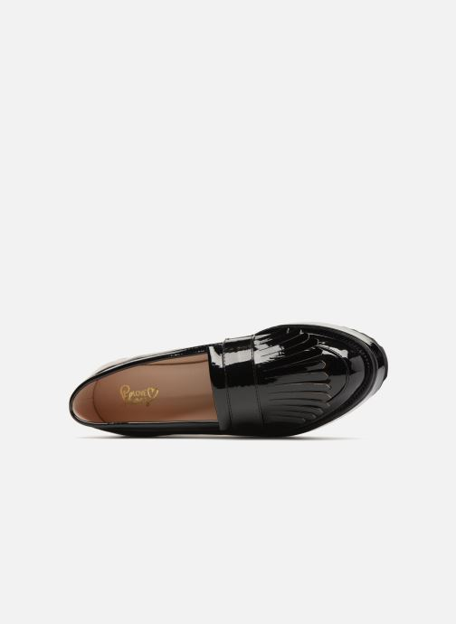 Loafers I Love Shoes CAMOK Black view from the left