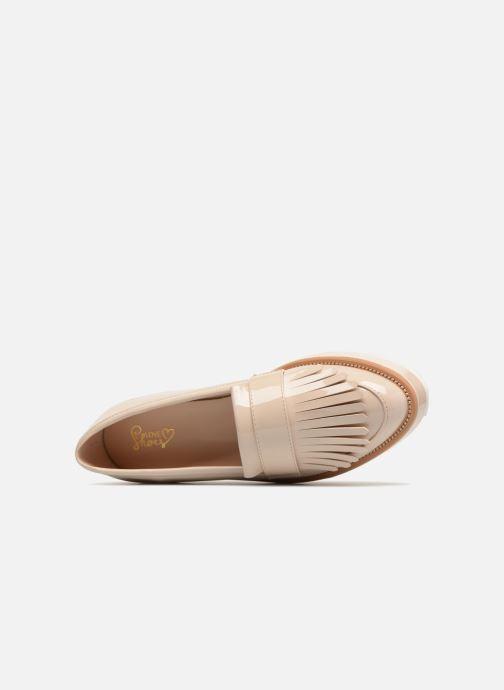 Slipper I Love Shoes CAMOK beige ansicht von links