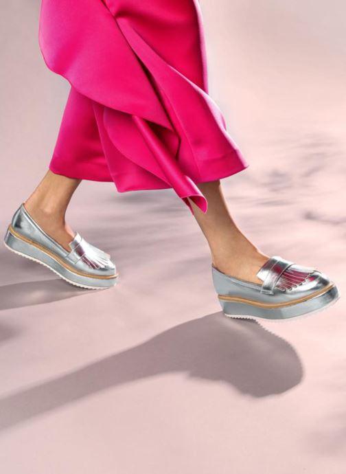 Mocassins I Love Shoes CAMOK Argent vue bas / vue portée sac