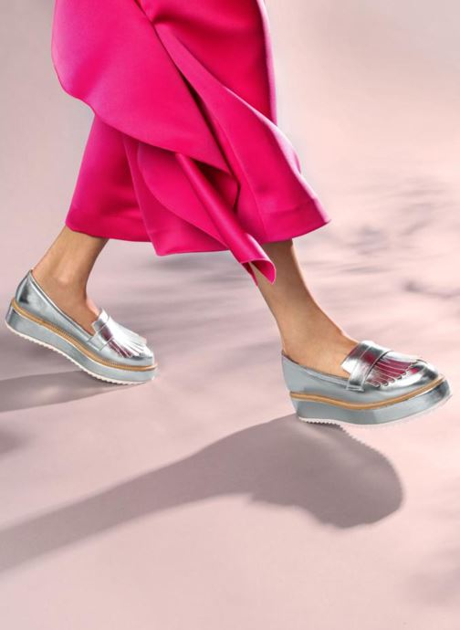 Mocassini I Love Shoes CAMOK Argento immagine dal basso