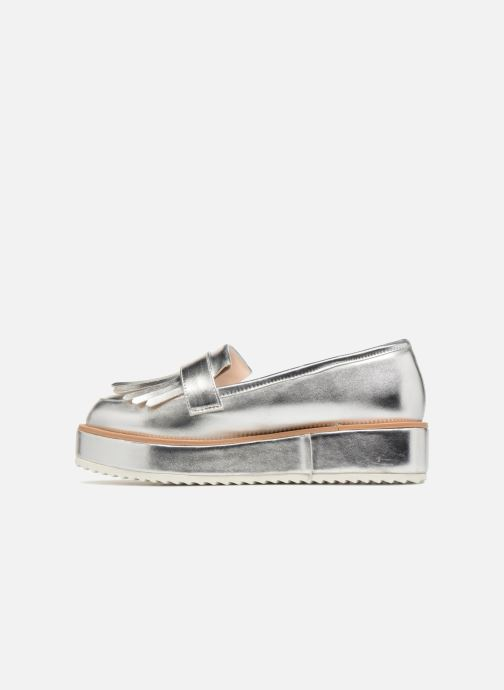 Mocassini I Love Shoes CAMOK Argento immagine frontale