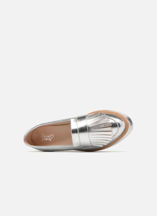 Mocassins I Love Shoes CAMOK Argent vue gauche