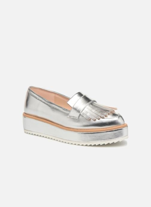 Mocassins I Love Shoes CAMOK Zilver detail