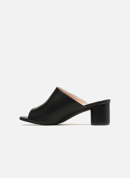 Zuecos I Love Shoes CAMULE Negro vista de frente