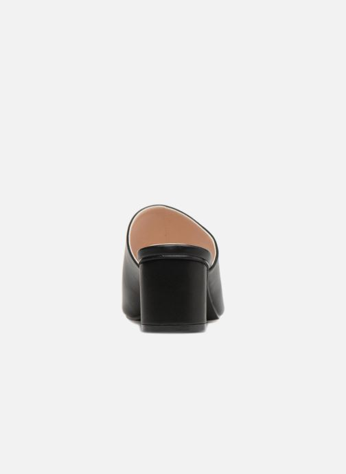 Zuecos I Love Shoes CAMULE Negro vista lateral derecha