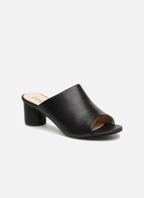Zuecos I Love Shoes CAMULE Negro vista de detalle / par
