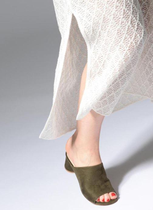 Zoccoli I Love Shoes CAMULE Verde immagine dal basso