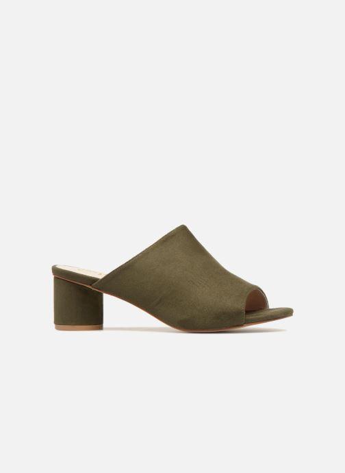 Zuecos I Love Shoes CAMULE Verde vistra trasera