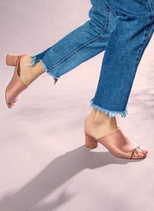 Mules et sabots I Love Shoes CAMULE Rose vue bas / vue portée sac