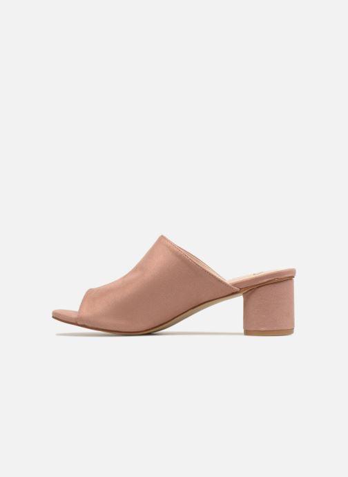 Zuecos I Love Shoes CAMULE Rosa vista de frente