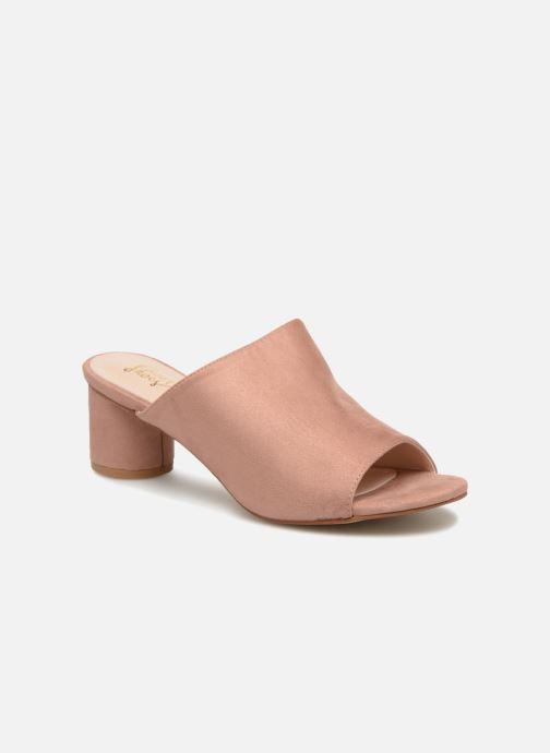 Zuecos I Love Shoes CAMULE Rosa vista de detalle / par