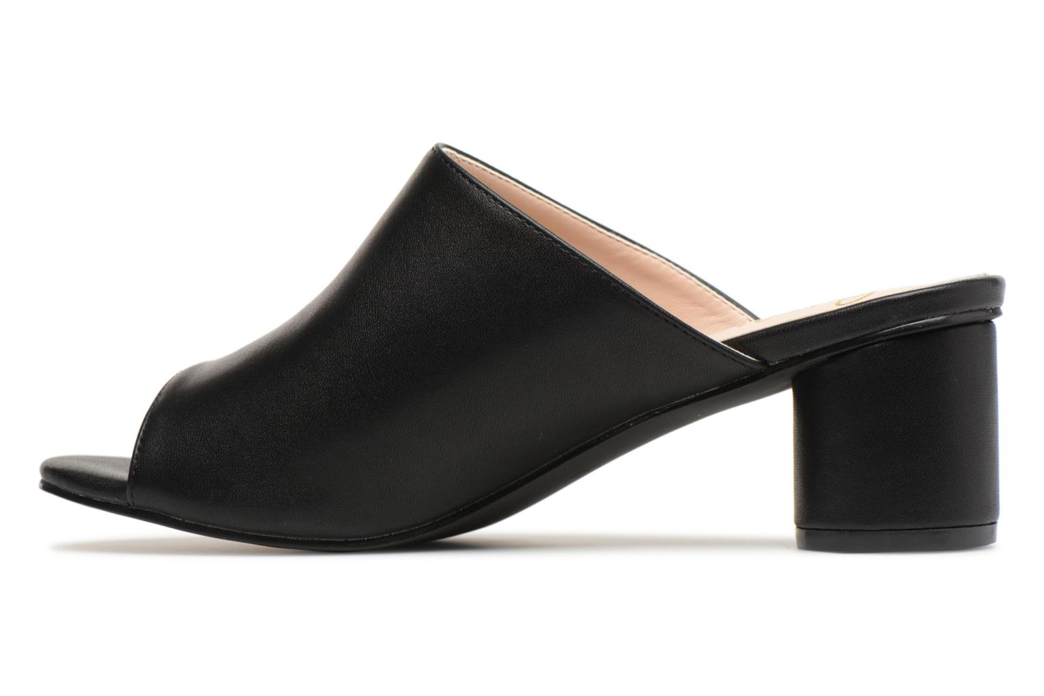 Mules et sabots I Love Shoes CAMULE Noir vue face