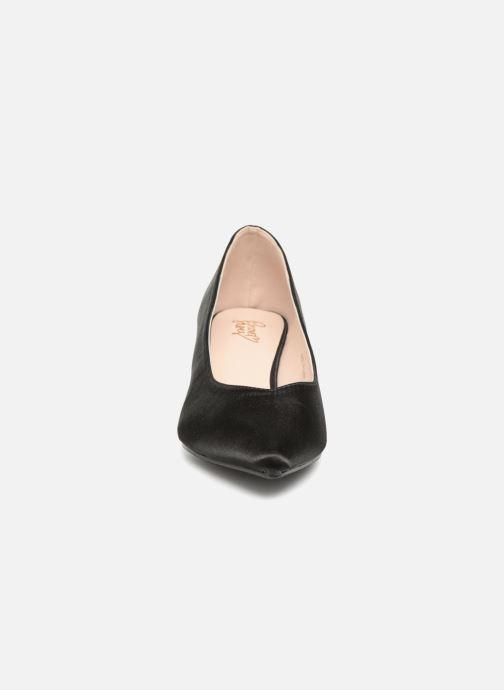 Cattini Love I Shoes Black Satin j3LcRqA54