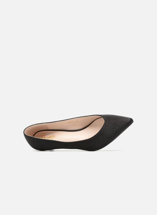 High heels I Love Shoes CATTINI Black view from the left