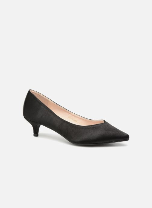 High heels I Love Shoes CATTINI Black detailed view/ Pair view