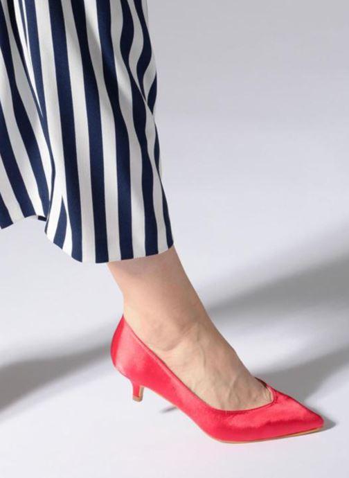 Escarpins I Love Shoes CATTINI Rose vue bas / vue portée sac