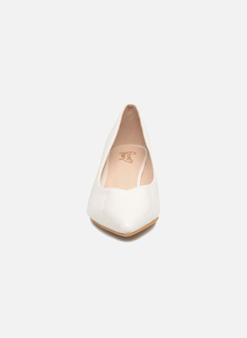 Escarpins I Love Shoes CATTINI Blanc vue portées chaussures