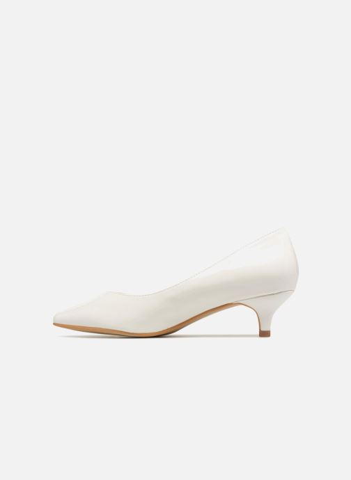 High heels I Love Shoes CATTINI White front view