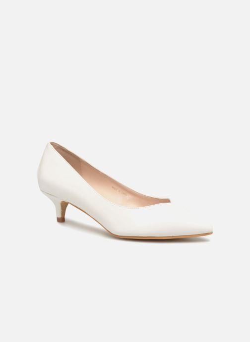 High heels I Love Shoes CATTINI White detailed view/ Pair view