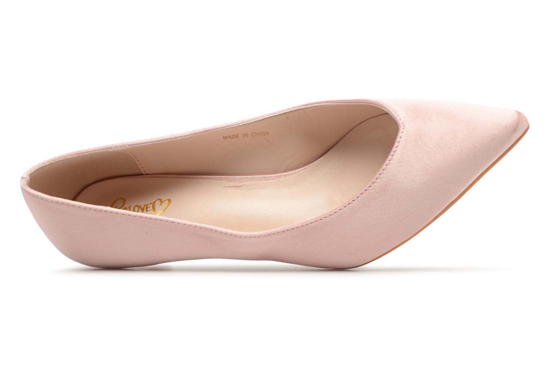 Escarpins I Love Shoes CATTINI Rose vue gauche