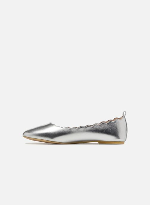 Ballerines I Love Shoes CAFESTON Argent vue face