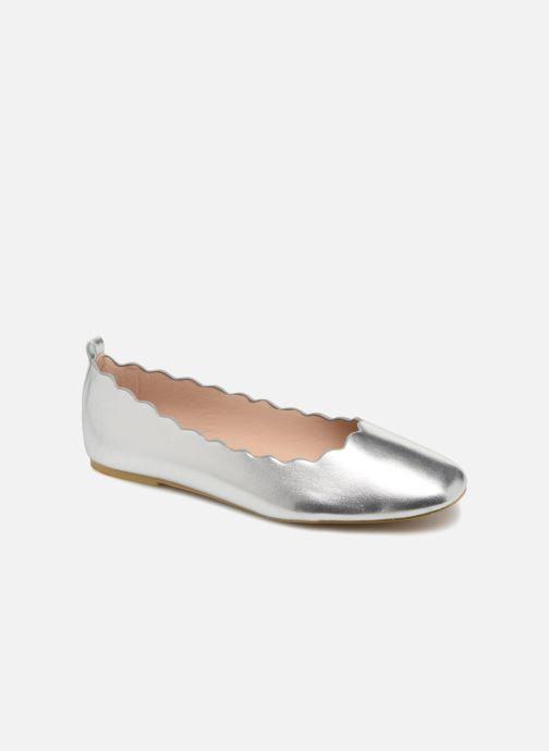 Ballerines I Love Shoes CAFESTON Argent vue détail/paire